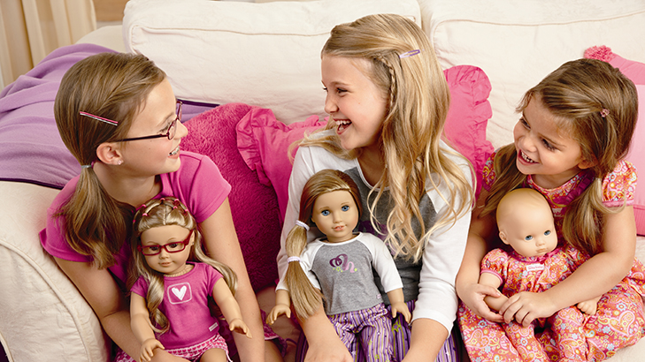 American girl pajama party